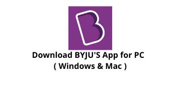 Download BYJU'S App for Windows 10