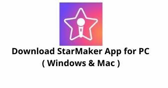 Download StarMaker App for Windows 10