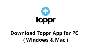 Download Toppr App for Windows 10