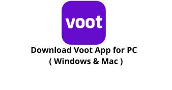 Download Voot for Windows 10